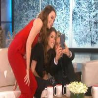 VIDEO: Watch Meryl Streep Get Cut Out of INTO THE WOODS Selfie Shot on 'Ellen'!