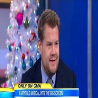 VIDEO: INTO THE WOODS' James Corden Talks Acting Alongside Meryl Streep on GMA