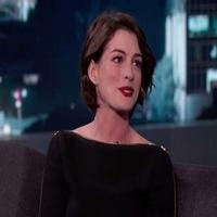 VIDEO: Anne Hathaway Talks Hosting the Holidays & More on JIMMY KIMMEL