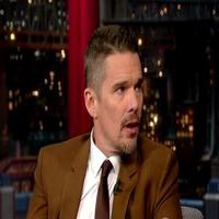 VIDEO: Ethan Hawke Talks Filming BOYHOOD Over 12 Years on 'Letterman'