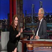 VIDEO: Julianne Moore Shares Her Inappropriate Christmas on LETTERMAN