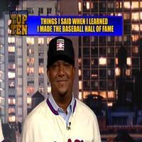 VIDEO: 2015 Baseball Hall of Fame Read LETTERMAN Top Ten List