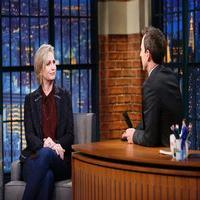 VIDEO: Jane Lynch Talks End of GLEE on 'Late Night'