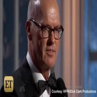 VIDEO: Michael Keaton Praises 'Best Friend' & Son Sean Douglas in GLOBES Acceptance Speech