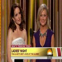 VIDEO: Best Zingers from GOLDEN GLOBE Hosts Tina Fey & Amy Poehler