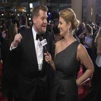 VIDEO: Find Out Why James Corden Had a Difficult Time Getting to the GOLDEN GLOBES!