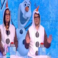 STAGE TUBE: Rosie O'Donnell Challenges Josh Gad to FROZEN Trivia on THE VIEW!