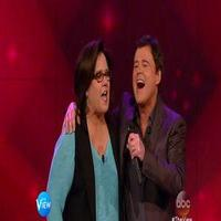 VIDEO: Donny Osmond & Rosie O'Donnell Sing 'My Cherie Amour' on THE VIEW