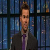 VIDEO: Andrew Rannells Talks New Season of GIRLS & More on LATE NIGHT