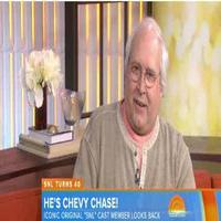 VIDEO: Chevy Chase Reveals 'So Silly of Me to Have Left SNL'