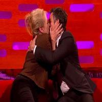 VIDEO: Meryl Streep Can't Hold Back Kissing Mark Ruffalo: 'I Was Looking for An Excuse All Night'