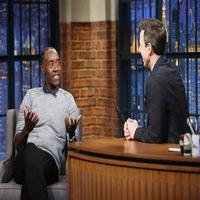 VIDEO: Don Cheadle Talks 'Avengers: Age of Ultron' and More on LATE NIGHT