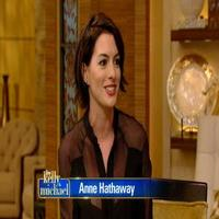 VIDEO: Anne Hathaway Reveals Where She Keeps Her Oscar Trophy on LIVE
