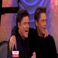 VIDEO: Rob Lowe & Donny Osmond Chat 'Tiger Beat' Days & More on THE TALK