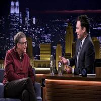 VIDEO: Bill Gates Redecorates Jimmy's Macbook on TONIGHT SHOW