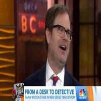 VIDEO: Rainn Wilson Talks New Series 'Backstrom' on TODAY