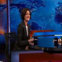 VIDEO: Anne Hathaway Can't Keep a Straight Face on THE DAILY SHOW