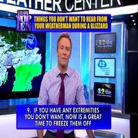 VIDEO: LETTERMAN Presents 'Top 10 Things You Don't Want to Hear During a Blizzard'