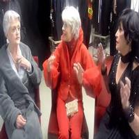 STAGE TUBE Flashback: Jerry's Girls! Broadway Legends Carol Channing, Angela Lansbury, and Chita Rivera Rehearse Kennedy Center Performance