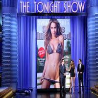 VIDEO: Jimmy Unveils Sports Illustrated Swimsuit Cover on TONIGHT