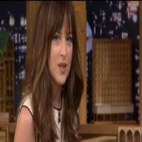 VIDEO: 50 SHADES' Dakota Johnson Plays 'Anything Can Be Sexy' on TONIGHT