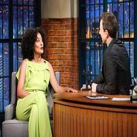 VIDEO: Tracee Ellis Ross Talks Mom Diana Ross on LATE NIGHT