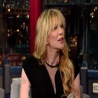 VIDEO: Courtney Love Talks Band 'Hole' & More on LETTERMAN