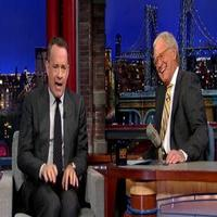 VIDEO: Tom Hanks Plans Out Dave's Retirement on LETTERMAN!