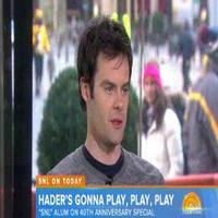 VIDEO: Bill Hader Talks 'Stefan', SNL Idols & More on TODAY