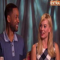VIDEO: Margot Robbie Begs Will Smith to Join INDEPENDENCE DAY Sequel on EXTRA