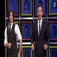 VIDEO: Fallon Plays 'Facebreakers' with The Walking Dead's Norman Reedus on 'Tonight Show'