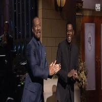 VIDEO: Chris Rock's Tribute to Eddie Murphy on the SNL 40th Anniversary Special