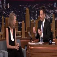 VIDEO: Taylor Swift and Jimmy Draw Each Other Without Looking on 'Tonight Show'