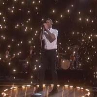 STAGE TUBE: Adam Levine, Maroon 5 Sing Nominated Song 'Lost Stars' from BEGIN AGAIN