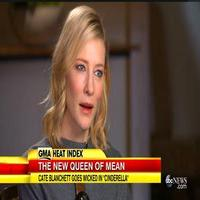VIDEO: Cate Blanchett Talks Playing Queen of Mean in Disney's CINDERELLA