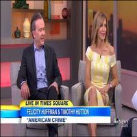 VIDEO: Felicity Huffman, Timothy Hutton Talk New Series AMERICAN CRIME