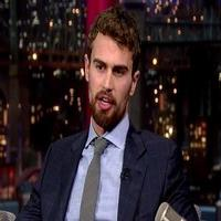 VIDEO: 'Insurgent' Star Theo James Reveals His Worst Job Ever on LETTERMAN