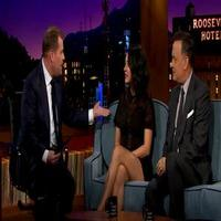 VIDEO: Tom Hanks & Mila Kunis Join James Corden on LATE LATE SHOW Debut; Watch Clips!