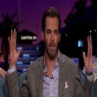 VIDEO: Chris Pine Shows Off His Christopher Walken Impression on JAMES CORDEN