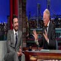 VIDEO: James Franco Talks 'The Interview' Controversy on LETTERMAN