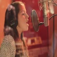 VIDEO: EVITA's Isabela Moner Sings 'Mercy' in the Recording Studio