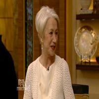 VIDEO: THE AUDIENCE's Helen Mirren Talks Meeting The Queen on 'Live'