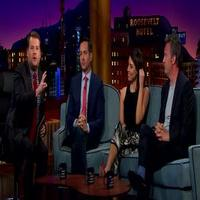 VIDEO: Thomas Lennon, Aubrey Plaza & Matthew Perry Visit JAMES CORDEN; Watch Clips!