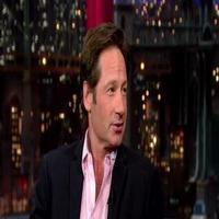 VIDEO: David Duchovny Talks Return to 'X Factor' on LETTERMAN