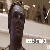VIDEO: Can Shoppers Resist the Lure of a Life-Sized Chocolate Benedict Cumberbatch?