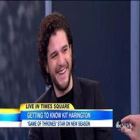 VIDEO: Kit Harington Talks New Season of GAME OF THRONES on GMA