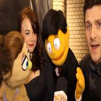 BWW TV: Puppets Unite for HAND TO GOD's Big Broadway Opening!