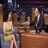VIDEO: Julia Louis-Dreyful Takes 'The Whisper Challenge' on TONIGHT SHOW