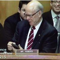 VIDEO: Senate Hearings Interrupted by 'Let It Go' Ringtone of U.S. Senator's Cell