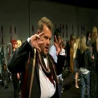 VIDEO: James Corden Headlines Burberry Fashion Show